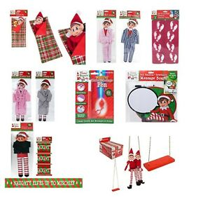 Elf-Accessories-Props-Stock-On-The-Shelf-Ideas-Kit-Christmas-Games-Clothes-Dolls