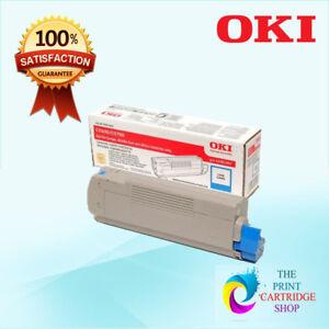 New-amp-Original-OKI-43381911-Cyan-Toner-Cartridge-C5600-C5700-2K-Pages
