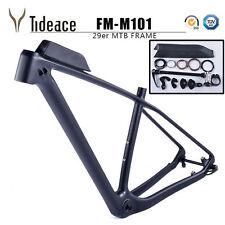 29er Full Carbon Fiber Mountain Bike Frames 19'' OEM MTB Frameset BSA Bicycle