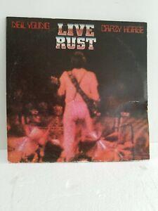 Neil-Young-amp-Crazy-Horse-Live-Rust-1979-Double-Vinyl-Record-LP-2RX-2296