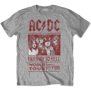 AC-DC-Highway-To-Hell-World-Tour-1979-80-Official-Merchandise-T-Shirt-M-L-XL-Neu