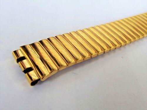cinturino modello swatch gent standard placcato dorato a molla ansa 17 mm