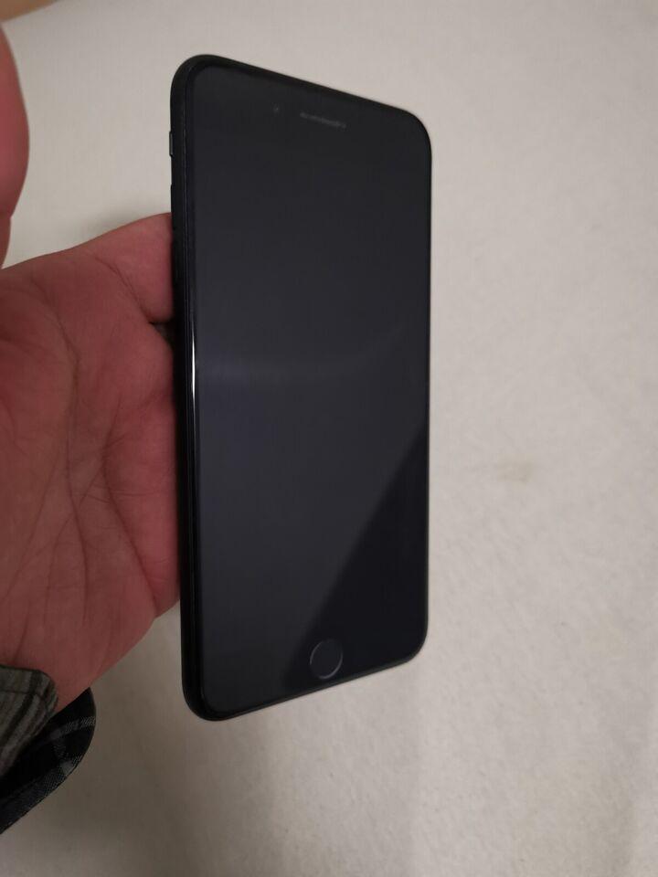 iPhone 7 Plus, 256 GB, sort