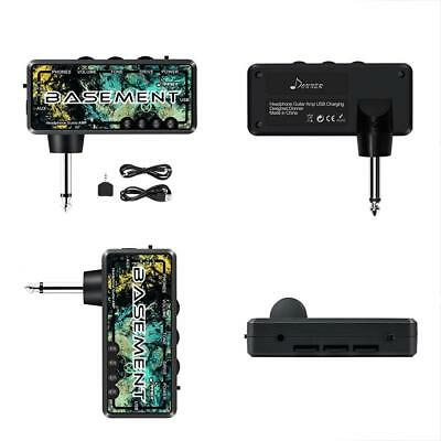 bass guitar headphone amp basement pocket fx wah rechargeable mini practice ebay. Black Bedroom Furniture Sets. Home Design Ideas