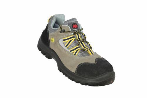 Aimont Albert ESD s1 src ESD Business zapatos zapatos profesionales plana beige B-Ware