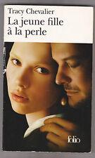 La Jeune Fille à La Perle - Tracy Chevalier.Scarlett Johansson en couverture.