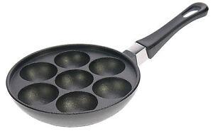 Krapfenpfanne-Pfoertchenpfanne-Augenpfanne-Muffinpfanne-NEU