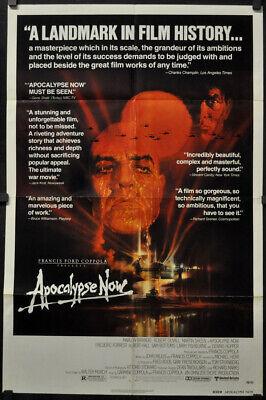Apocalypse Now Insert Movie Poster 14x36 Replica