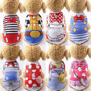 Spring-Teddy-Clothes-Puppy-Dog-Cotton-Vest-Summer-Cat-Pet-Coat-Shirt-Costume-New