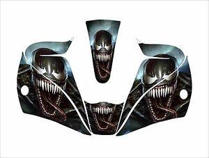 Lincoln Welding Helmet 3350 >> LINCOLN VIKING 2450 3350 WELDING HELMET WRAP DECAL STICKER jig venom spiderman | eBay
