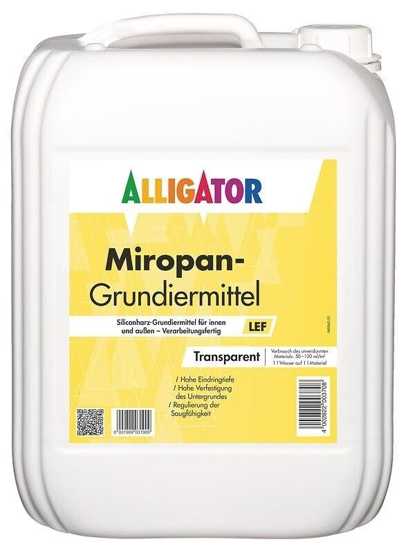 Alligator Miropan-Grundiermittel LEF 10 Liter +++Aktionspreis+++