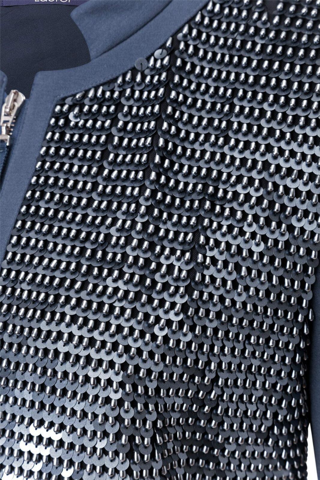 Laurel  Blazer in blau mit Pailletten besetzt, Größe 42 42 42 | Ideales Geschenk für alle Gelegenheiten  | Überlegene Qualität  | Bequeme Berührung  | Eine Große Vielfalt An Modelle 2019 Neue  | Deutschland Berlin  9326c9
