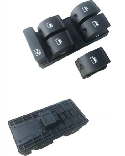 For 2004-2008 Audi A4 S4 Master Electric Power Driver Left Window Switch Control