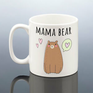 Image Is Loading MAMA BEAR MUG Cute Mum Birthday Gift