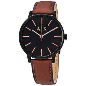 99b4691ce5cf5 Armani Exchange Cayde Black Dial Men s Watch AX2706 723763269698