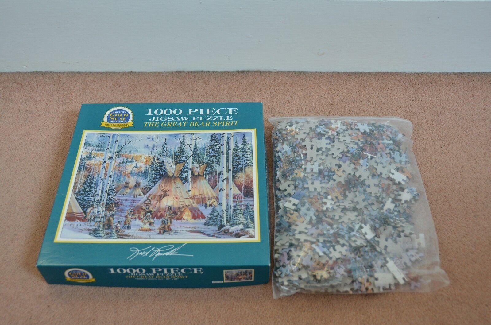 Bits Puzzle & Pieces Puzzle Bits  02-0109 - The Great Bear Spirit - 1000 piece 20