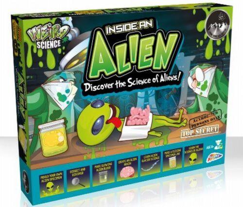 Kids Weird Science Kit Inside An Alien Children/'s Biology Surgeon Game Set 0023