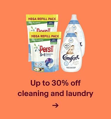 Up to 30% off cleaning and laundry