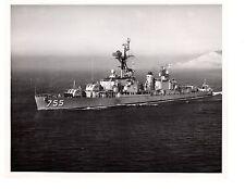 USS John A. Bole DD755 Destroyer Navy Ship Official Photograph 8x10 BW