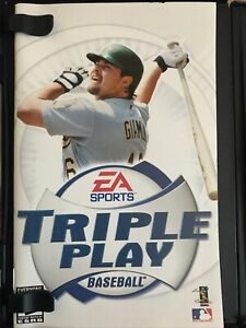 PS2-Triple-Play-Baseball-Playstation-2-Game-Case-and-Disc-Rated-E-2001-Sports