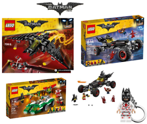 LEGO The Batman Movie The Batmobile Batwing Riddler Racer & More - New & Boxed