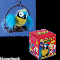 Polly The Insulting Parrot Bird Talking Parrot Motion Activated Adult Prank Joke