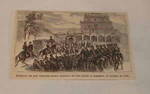 1879-magazine-engraving-MARRIAGE-OF-PRINCESS-MARIA-ISABELLA