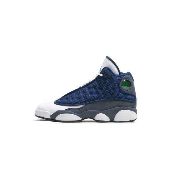 Nike Air Jordan 13 Retro GS 2020 Boy's Shoes - Blue/Flint, Size 4 ...
