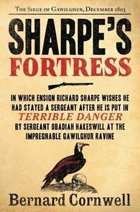 SHARPE-039-S-FORTRESS-by-Bernard-Cornwell-FREE-SHIPPING-paperback-book-historical