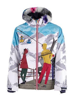 CMP Skijacke Snowboardjacke GIRL JACKET FIX HOOD hellblau winddicht