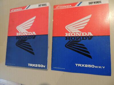Werkstatthandbuch Shop Service Manual Honda Trx250 1997-2000 Reparaturanleitung