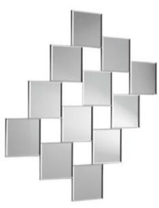 Details About Pack Of 12 X 80mm Diameter Square Perspex Mirror Tiles 3mm Acrylic