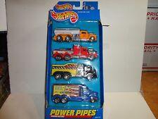 Hot Wheels Haulers 4 Truck Power Pipes Set