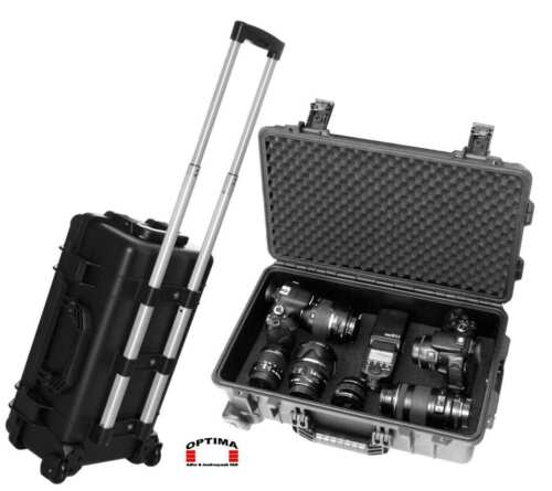 Foto- Kamera- Gerätekoffer Trolley Outdoor Case - wasseerdicht