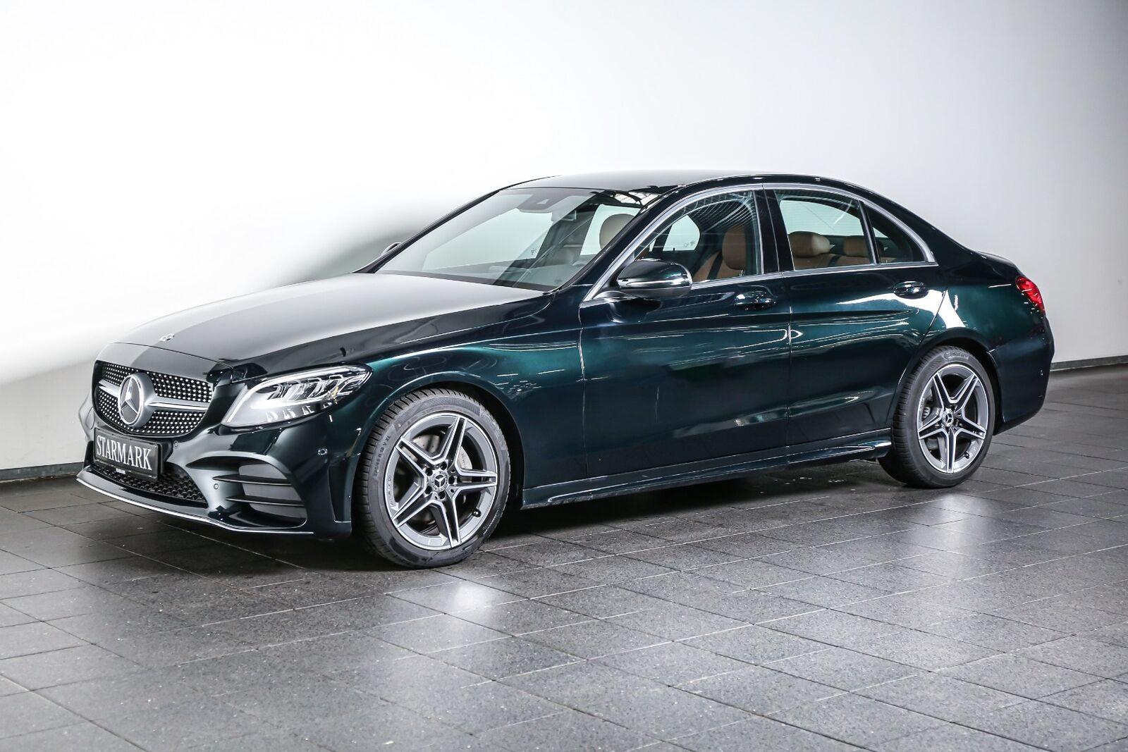 Mercedes C220 d 2,0 AMG Line aut. 4d - 444.900 kr.