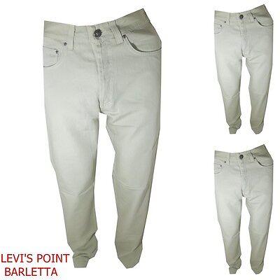 pantaloni versace uomo in cotone vita alta diritto a jeans estivo tg W30 31 32 | eBay