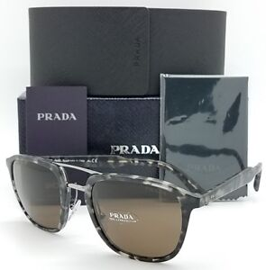 New-Prada-sunglasses-PR12TS-VH38C1-Black-Tortoise-Double-PR12-Classic-AUTHENTIC