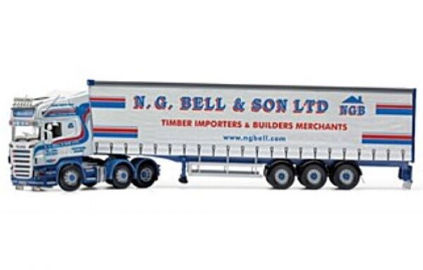 Scania r CURTAINSIDE N G Bell & son Ltd Newtownards Northern Ireland