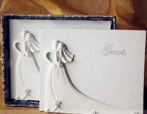Guestbook Matrimonio Libri degli ospiti SPOSO E SPOSA Resina Partecipazione