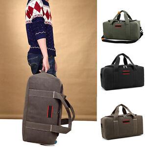 22-034-Men-039-s-Military-Canvas-Leather-Gym-Duffle-Shoulder-Bag-Travel-Luggage-Handbag