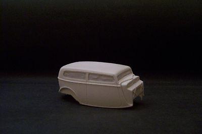 Jimmy Flintstone '34 Ford Sedan Rat Rod Resin Body   #154