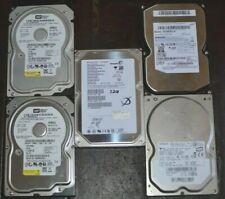 "Mixed Lot 30 Name Brand 160 GB SATA 3.5/"" Desktop Hard Drives Tested Used"