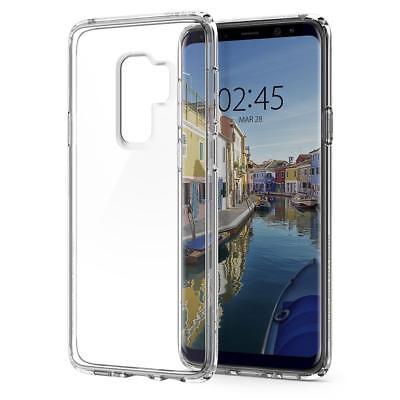 Galaxy S9 Plus / S9 Case, Genuine SPIGEN Ultra Hybrid Bumper Hard Cover Samsung