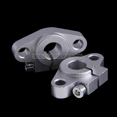 UN3F Pack of 4 SHF10 10mm Aluminum Linear Rod Rail Shaft Support CNC Route New