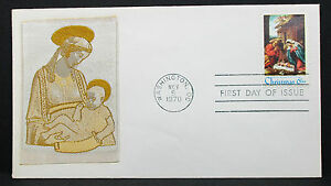 US-Silk-Cover-FDC-Washington-Christmas-Gallery-Stamp-6c-USA-First-Day-H-7558