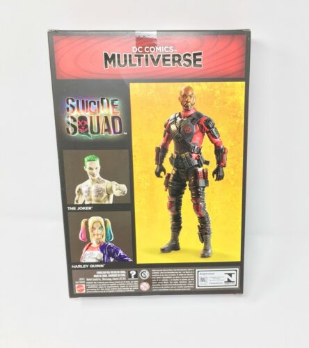 Dc Figure Comics Multiverse Suicide Squad Deadshot 12 Inch By Mattel Toy
