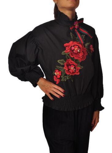 Donna Mustar Nero Bluse 4410925a184110 All Pzw10qSqn