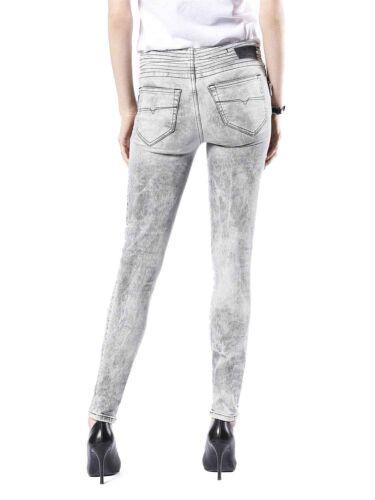 Diesel Skinzee-BK2 0854K Stretch Damen Jeans Hose Slim Skinny