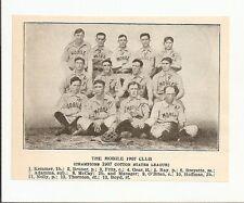 Mobile Sea Gulls 1907 Team Picture Bill Kemmer