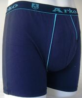 Mens Boys Fun Designer Underwear Blue Boxer Long No Fly 2b3 Medium A1